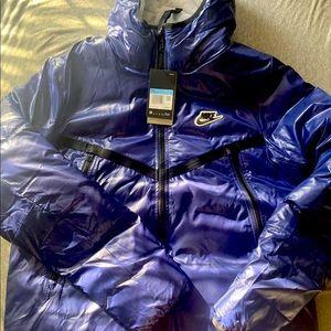 Nike NSW Synthetic-Fill Jacket CZ1508 492 Blue/Black-White New Men's Size Medium
